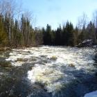 Rivière Mistigougèche au printemps